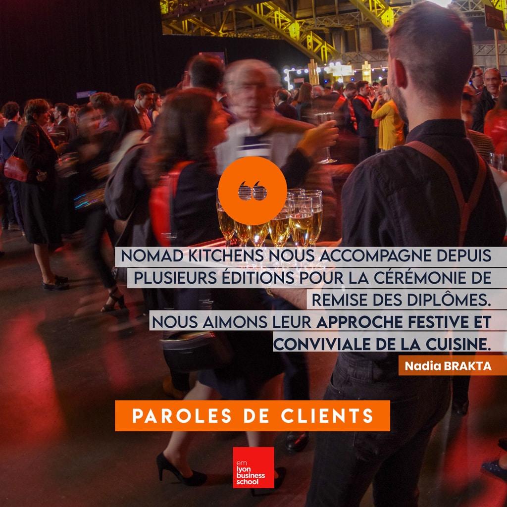 EM Lyon - Parole de Clients - Nomad Kitchens