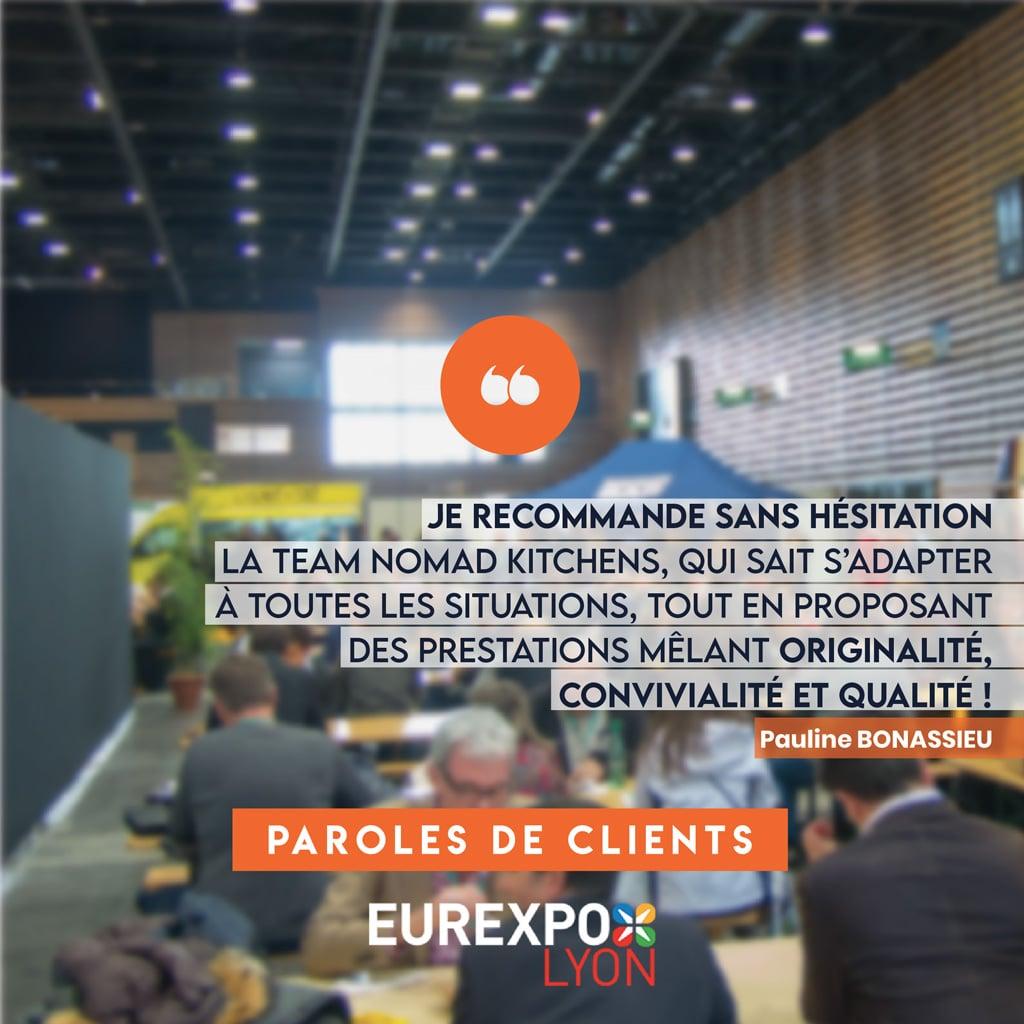 Eurexpo - Parole de Clients - Nomad Kitchens