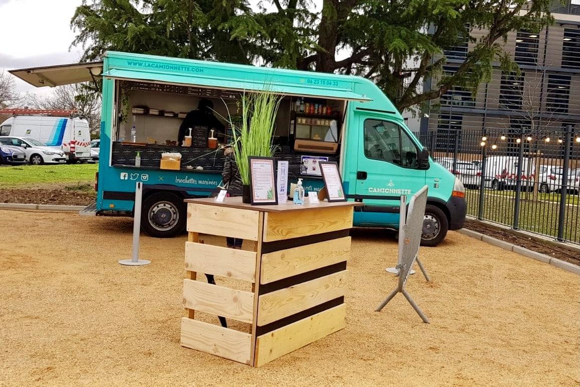 Rotation Food Trucks - Pause Déjeuner Entreprise Serfim - Nomad Kitchens